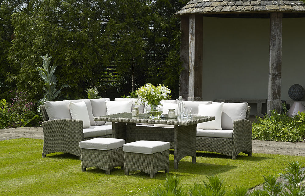 we like   and your guests will never complain about your skills as a  host  or the comfort of your garden furniture  when seated at one of these  tables. Spring into summer