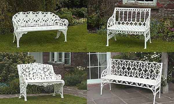 Victorian Garden Ornament And Furniture