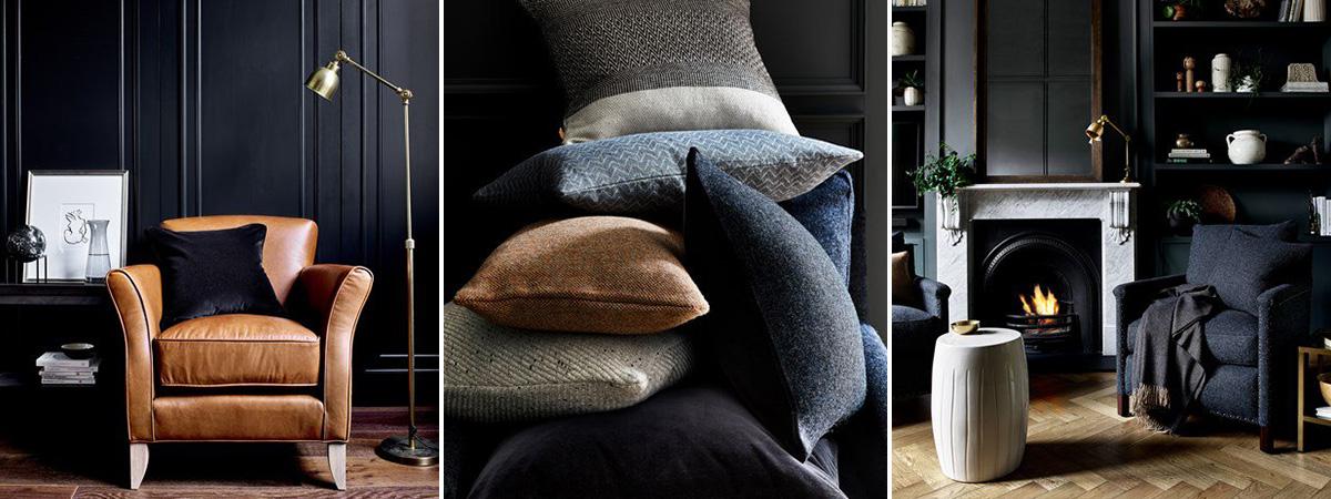 How To Use Dark Colours Interior Design Holloways
