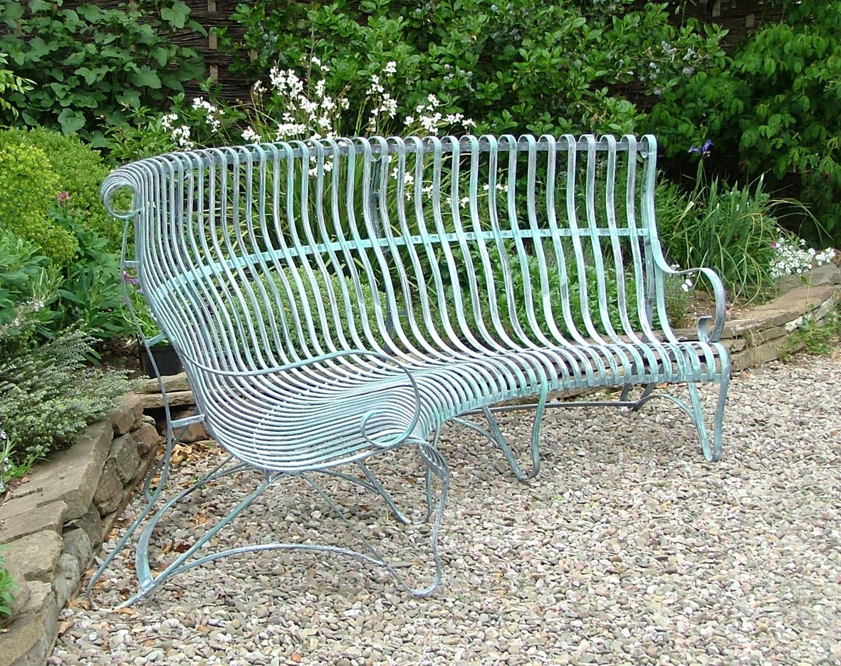 seat benches mainstays on bl marvellous amazing photo metal pictures iron of ends bench gumtree garden att steel wrought x black legs