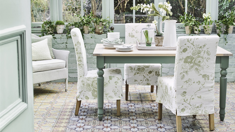 Long Island Dining Chairs With Loose Covers By Neptune