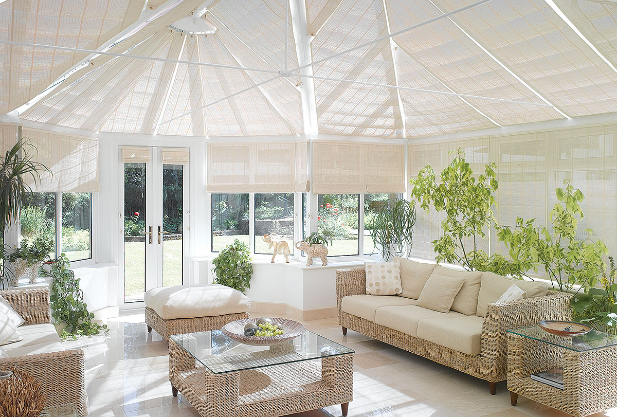 Conservatory Blinds And Shading Conservatory Roof Blinds
